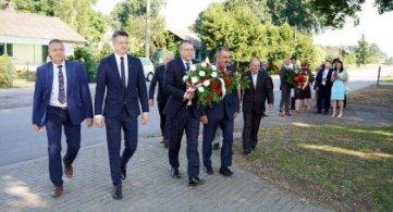 Uczcili pamięć ofiar Męczenników Wsi Polskiej
